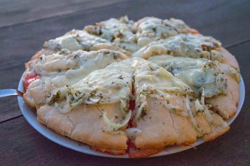 Pizza, Asador Rocamar, Islares, Castro Urdiales